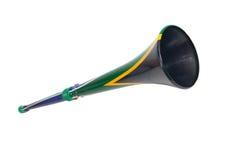 Sul - Vuvuzela africano Imagens de Stock Royalty Free