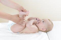 Sula massagen Royaltyfria Foton