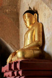Sulamani寺庙菩萨图象, Bagan,缅甸 免版税库存图片