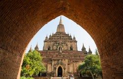 Sulamani寺庙,缅甸 库存照片