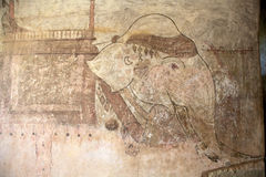 Sulamani寺庙, Bagan,缅甸 库存图片