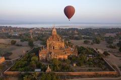 Sulamani寺庙- Bagan -缅甸 免版税图库摄影