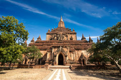 Sulamani Pagoda. Buddhist Temples at Bagan, Myanmar (Burma) Stock Photo