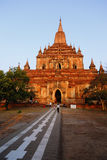 Sulamani Pahto. Stood on the plains of Bagan in Myanmar Burma Royalty Free Stock Photography