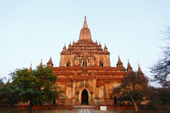 Sulamani Pahto. Stood on the plains of Bagan in Myanmar Burma Stock Photography