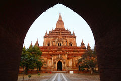 Sulamani Pahto. Stood on the plains of Bagan in Myanmar Burma Stock Photo