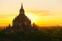 Sulamani Paya, Bagan, το Μιανμάρ. Στοκ Εικόνα