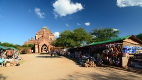 Sulamani Tempel Bagan myanmar Lizenzfreie Stockfotografie