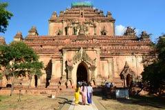 Sulamani Tempel Bagan myanmar Lizenzfreie Stockbilder