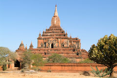 Sulamani temple at the archaeological site of Bagan Stock Images