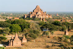 Sulamani temple at the archaeological site of Bagan Royalty Free Stock Photography
