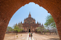 Sulamani temple. At Bagan ,Myanmar Stock Photography