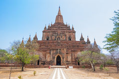 Sulamani temple. At Bagan ,Myanmar Royalty Free Stock Images
