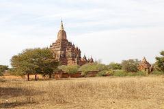 Sulamani temple, Bagan, Myanmar Royalty Free Stock Photo