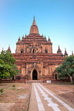 The Sulamani Temple in Bagan, Myanmar Stock Image