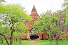 Sulamani Temple, Bagan, Myanmar. The Sulamani Temple is a Buddhist temple located in the village of Minnanthu in Myanmar. It was built in 1183 by King Royalty Free Stock Photos