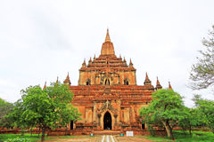 Sulamani Temple, Bagan, Myanmar. The Sulamani Temple is a Buddhist temple located in the village of Minnanthu in Myanmar. It was built in 1183 by King Stock Images