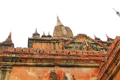 Sulamani Temple, Bagan, Myanmar. The Sulamani Temple is a Buddhist temple located in the village of Minnanthu in Myanmar. It was built in 1183 by King Royalty Free Stock Images