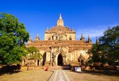 Sulamani temple  Bagan, Myanmar Royalty Free Stock Photo