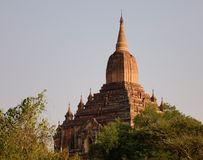 Sulamani Temple in Bagan, Myanmar. Top of Sulamani Temple in Bagan, Myanmar Stock Photo