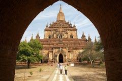 Sulamani temple, Bagan, Myanmar Stock Images