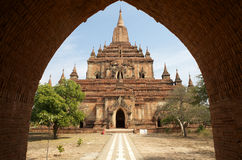Sulamani temple, Bagan, Myanmar Royalty Free Stock Photography