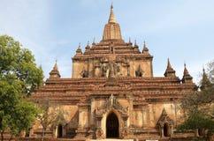 Sulamani temple, Bagan, Myanmar Royalty Free Stock Images