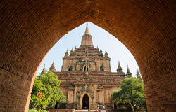 Sulamani temple, Myanmar Stock Photo