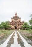 Sulamani temple (Pagoda) in Old Bagan (Pagan), Myanmar (Burma). Stock Images