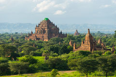 Sulamani temple reconstruction after earthquake, Bagan ancient c Stock Photography