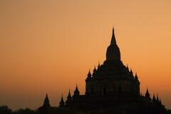 Sulamani Temple at sunrise. Royalty Free Stock Photo