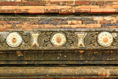 Sulamani Temple Wall, Bagan, Myanmar. The Sulamani Temple is a Buddhist temple located in the village of Minnanthu in Myanmar. It was built in 1183 by King Royalty Free Stock Photography