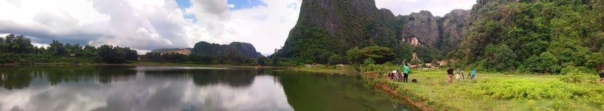 Sulawesi selatan. Avatar world in indonesia, panorama stock image