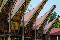 Sulawesi Tongkonan Imagen de archivo