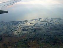 Sulawesi von einem plaine Stockfoto