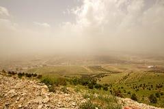 Sulaymaniyah nella provincia di Kurdistan autonoma dell'Irak Fotografia Stock