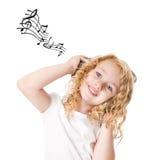 Sulco à música Fotografia de Stock Royalty Free