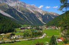 Sulden em Tirol sul Fotografia de Stock