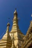 Sule Pagoda main zedi Royalty Free Stock Photography