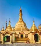 Sule Pagoda in Yangon. Royalty Free Stock Photo