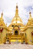 Sule Pagoda Yangon, Myanmar fotografering för bildbyråer