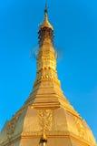 Sule Pagoda, Yangon, Myanmar. royalty free stock photos