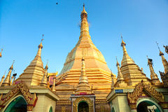 Sule Pagoda, Yangon, Myanmar. Royalty Free Stock Photo