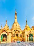 Sule Pagoda in Yangon. Stock Images