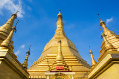 Sule Pagoda Stock Photography