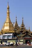 Sule Pagoda - Yangon - Myanmar Stock Photo