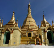 Sule Pagoda, Yangon (Rangoon), Myanmar. Stock Photography