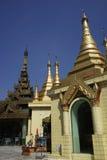 Sule Pagoda, Yangon (Rangoon), Myanmar. Royalty Free Stock Image