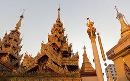 Sule Paya. Yangon. Myanmar. Royalty Free Stock Photo