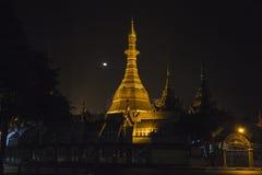 Sule Paya in Yangon Stock Photos
